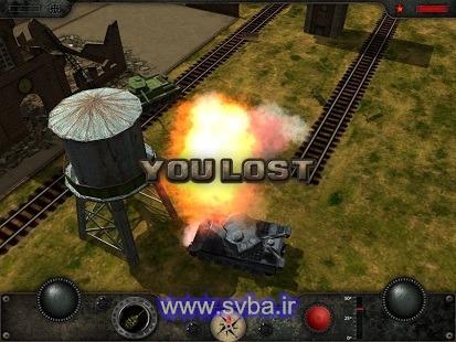 دانلود بازی مبارزه با تانک جنگی اندروید 1.2 Combat Tank Warfare 2
