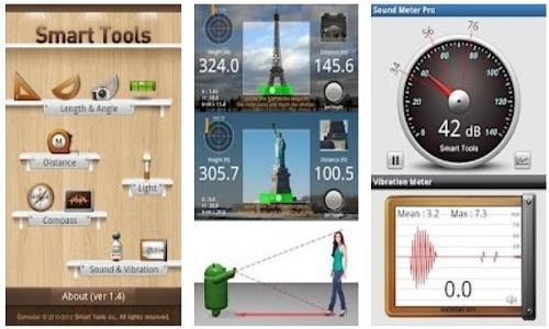 دانلود نرم افزار اندروید اندازه گیری و محاسباتی برای مهندسان Smart Tools Pro apk