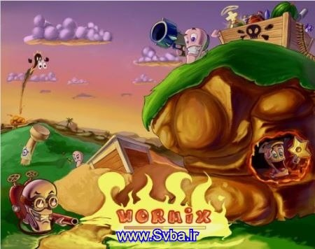 Creams Worm java 240x320 jar game download  www.Svba.ir
