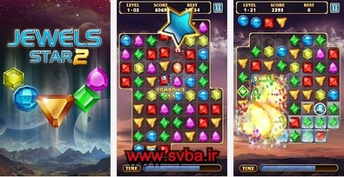 Jewels Star 2 apk best android www.svba.ir