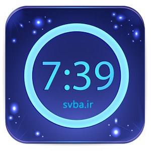 Neon Alarm Clock 2.1.2 software android apk download  www.Svba.ir