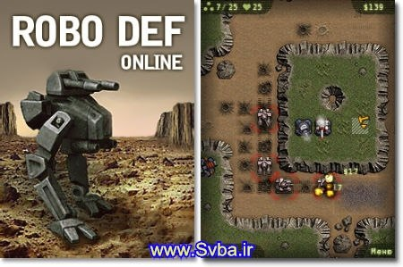 Robodef Pro.jar 240X320 320x240 360x640 free download java
