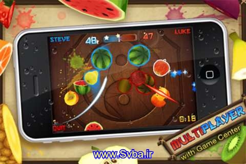 fruit ninja bada samsung download  www.Svba.ir