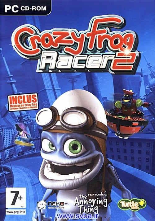 Crazy Frog Racer 2 cover