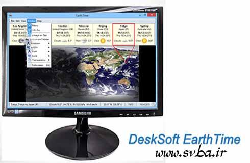 DeskSoft EarthTime 5 8 6