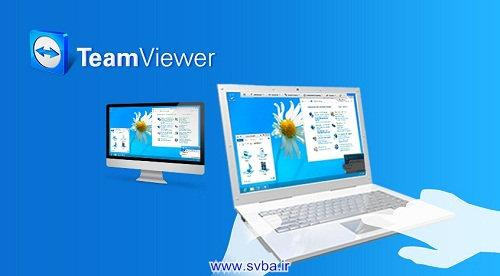 teamviewer8 laptop computer connection